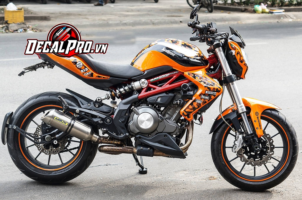 Tem xe Benelli TNT 300 Yellow Camou