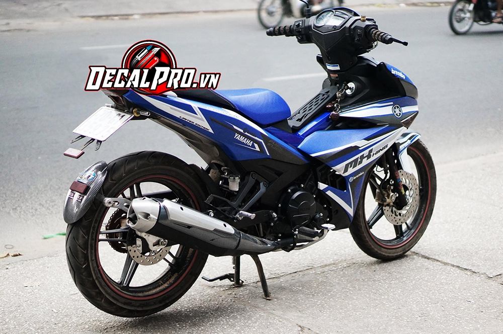 Tem xe Exciter 150 MXKing Racing