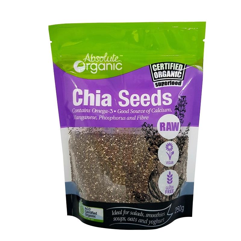 Hạt Chia Absolute Organic 250g | Monami Mart