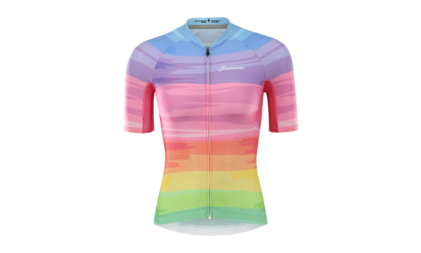 Áo ngắn tay Sobike P-SL Women's SS Jersey-Colorful