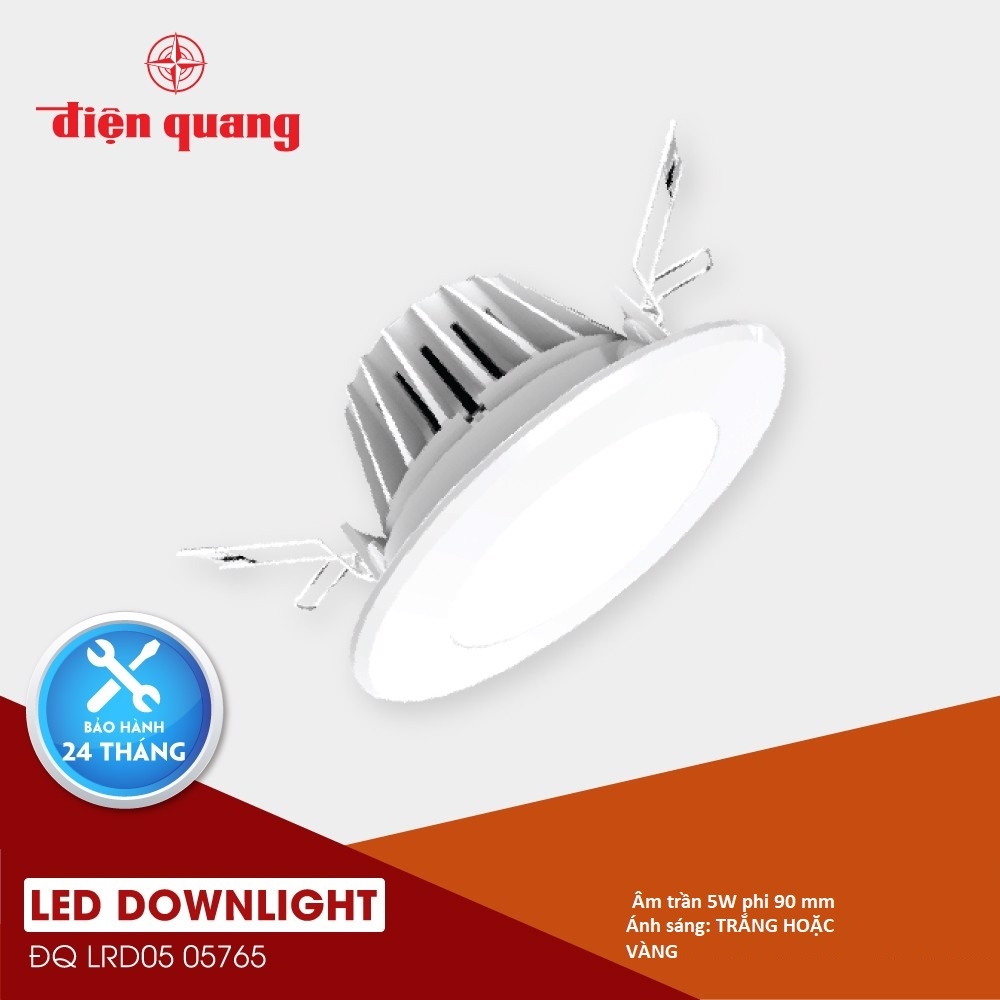 LED Downlight ĐQ LRD05 (5W/ Fi90)