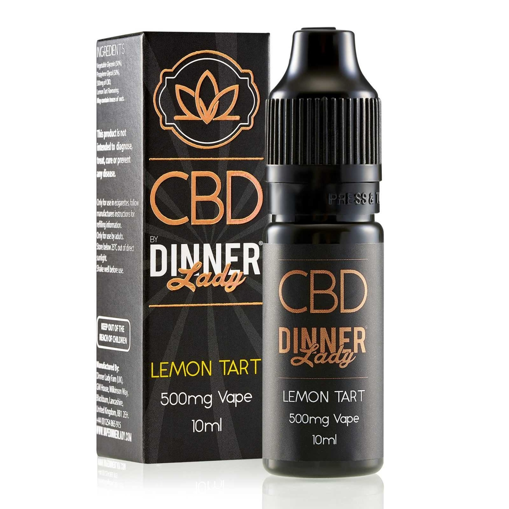 Juice 10ml pod vape CBD Dinner Lady Lemon Tart - Nồng độ 100MG