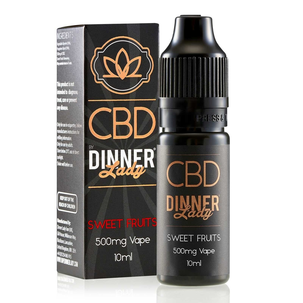 Juice 10ml pod vape CBD Dinner Lady Sweet Fruit - Nồng độ 100MG