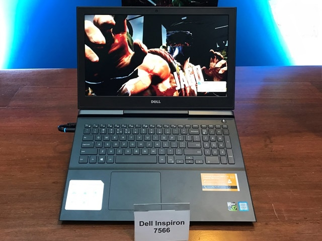 Dell Gaming 7566 ( i5-6300HQ, ram 4G, HDD 500Gb + SSD 128G, VGA Nvidia GTX 960M- 4G, màn 15.6 Full HD)