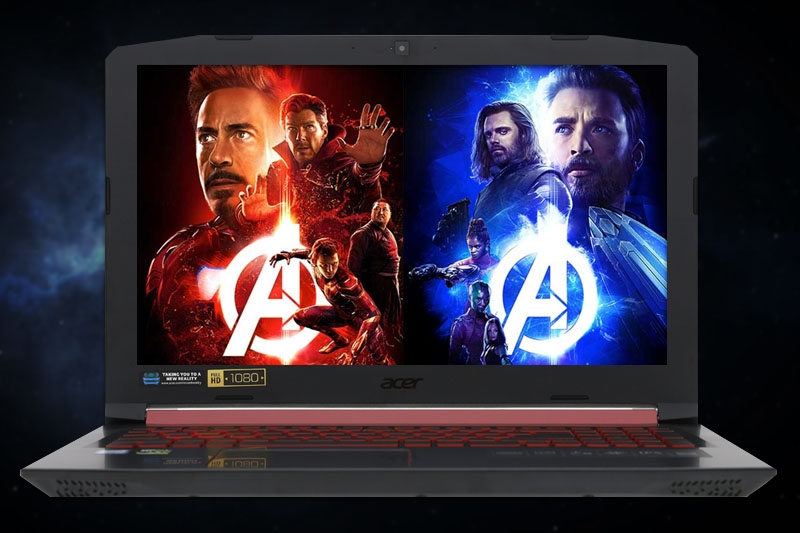 Laptop Gaming Acer Nitro 5 AN515 51  i5 7300HQ/8GB/128 +1TB/ GTX1050