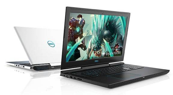 Laptop Dell G7 Inspiron 7588 Geforce GTX1050Ti 4GB Intel Core i7 8750H 8GB 1TB +SSD 128G 15.6 IPS