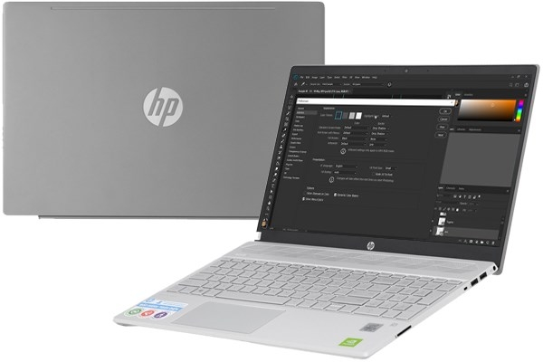 Laptop HP Pavilion 15 cs3119TX - CORE i5 1035G1 - VGA 2GB MX250/Win10