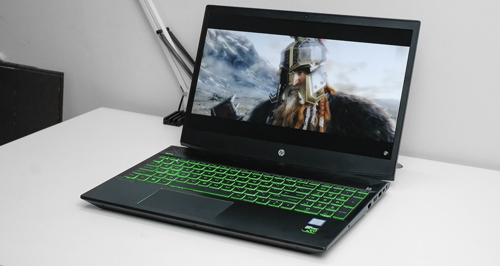 Laptop HP Gaming Pavilion 15 Core i5 9300H/8GB/SSD256G/VGA GTX 1050 4G, MÀN 15.6 FHD IPS