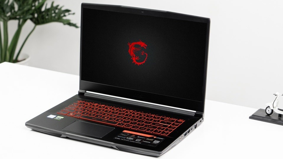 "( Full box còn bh hãng 5 - 2021) LAPTOP MSI GF63 THIN 9RC 273VN GEFORCE GTX1050 4GB INTEL CORE I5 9300H 256GB 15.6"" IPS BACKLIGHT KEYBOARD WIN 10"