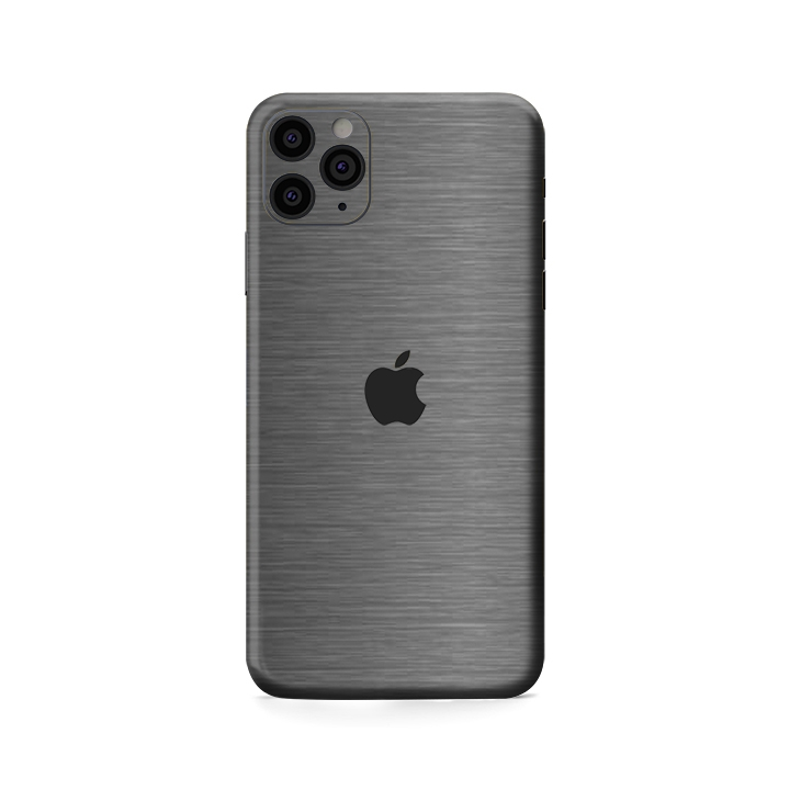Dán Skin Xám Xước IPhone Pro | Pro Max (Brusher Steel)