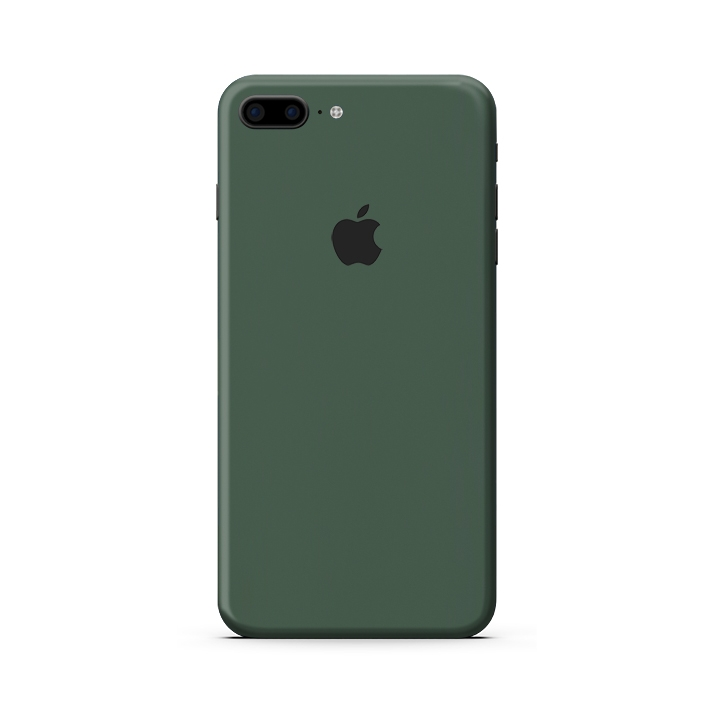 Skin 3M  IPhone 7 Plus| IPhone 8 Plus | Màu Xanh Rêu (M26-732)