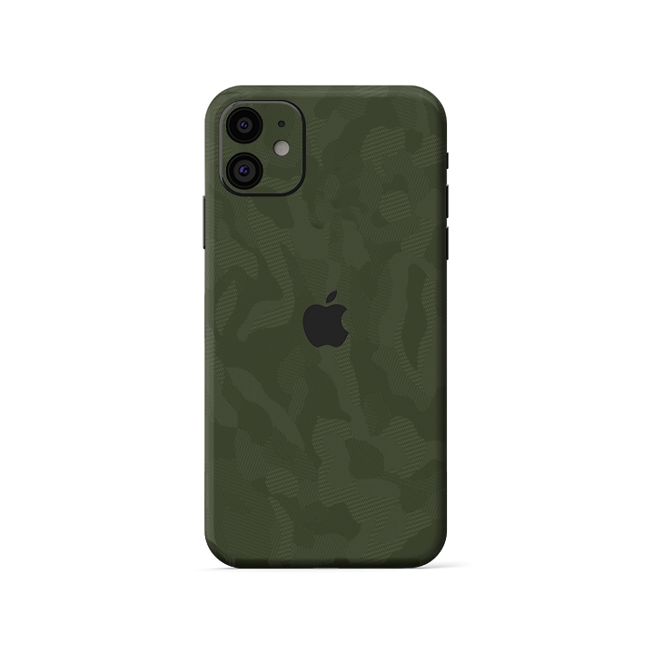 Skin 3M Camo Xanh IPhone XR| IPhone 11 (SB26)