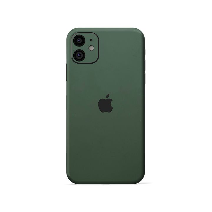 Skin 3M  IPhone XR | IPhone 11 | Màu Xanh Rêu (M26-732)