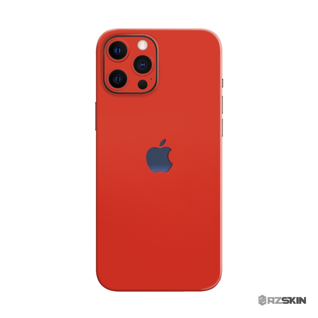 Skin 3M Màu Đỏ IPhone 12 | 12 Mini | 12 Pro | 12 Pro Max