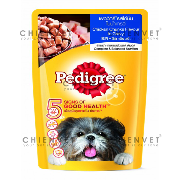 Pedigree chicken flavour in gravy