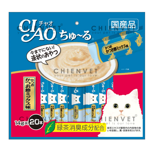 SC-130 Ciao chu ru Tuna Dried Bonito Mix 280gr