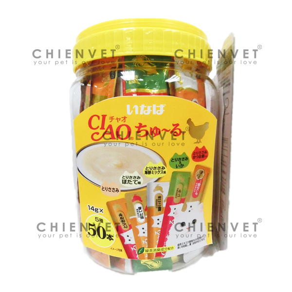 Ciao chu ru chicken 50pcs