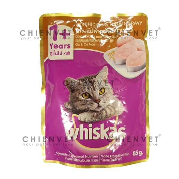 Whiskas chicken & Tuna 85g