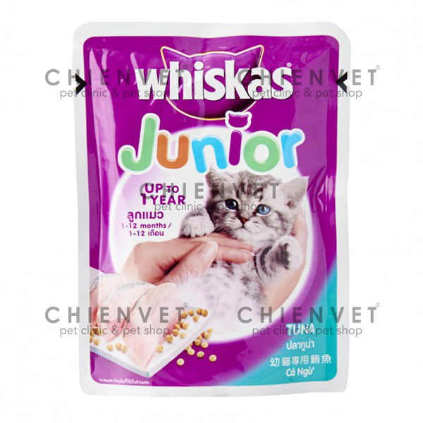 Whiskas Junior Tuna 85g