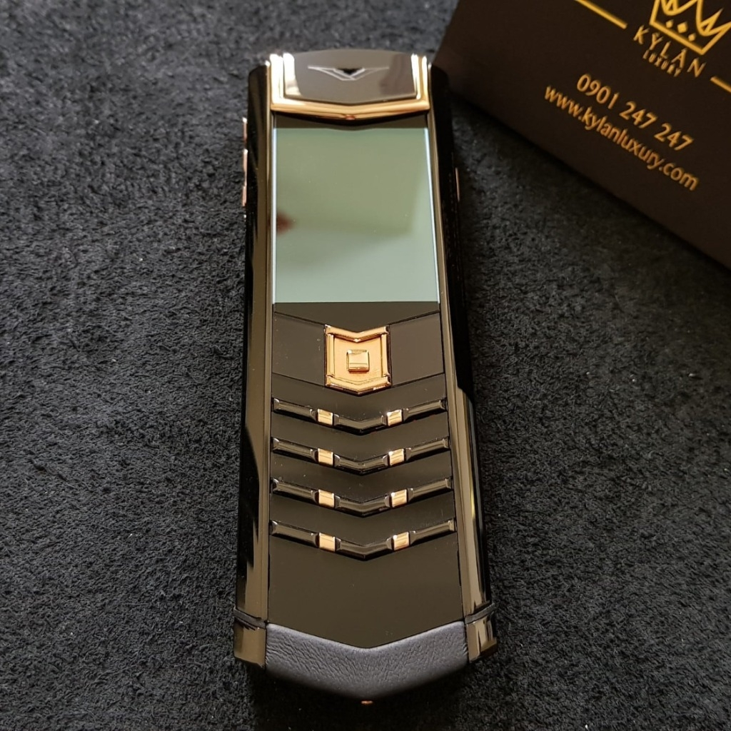 Vertu Signature S Đá gốm Black And Gold