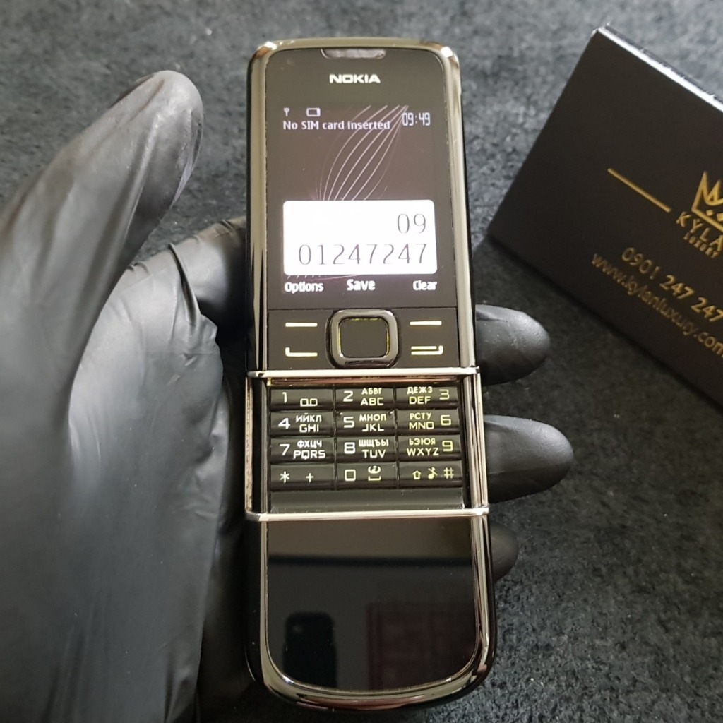 Nokia 8800 Arte Black Like New 99%