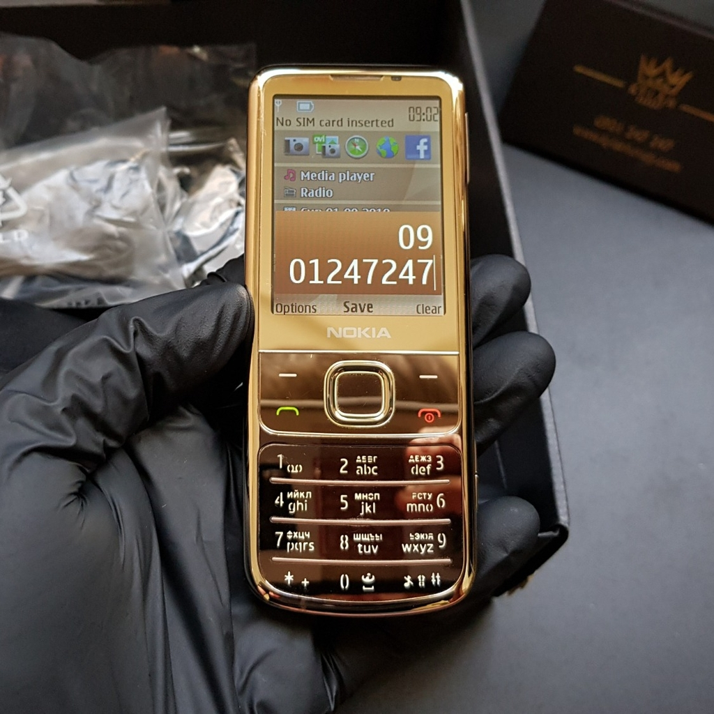 Nokia 6700 Gold fullbox
