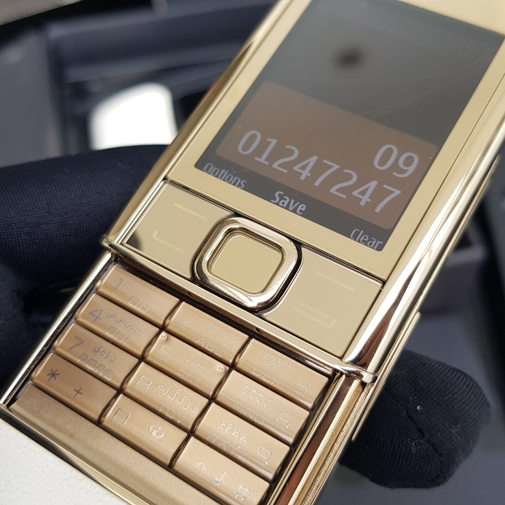 Nokia 8800 Gold Arte Like New Full Box