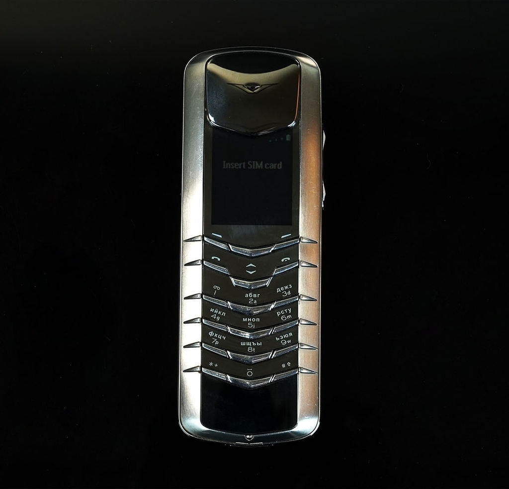 Vertu Signature M steel