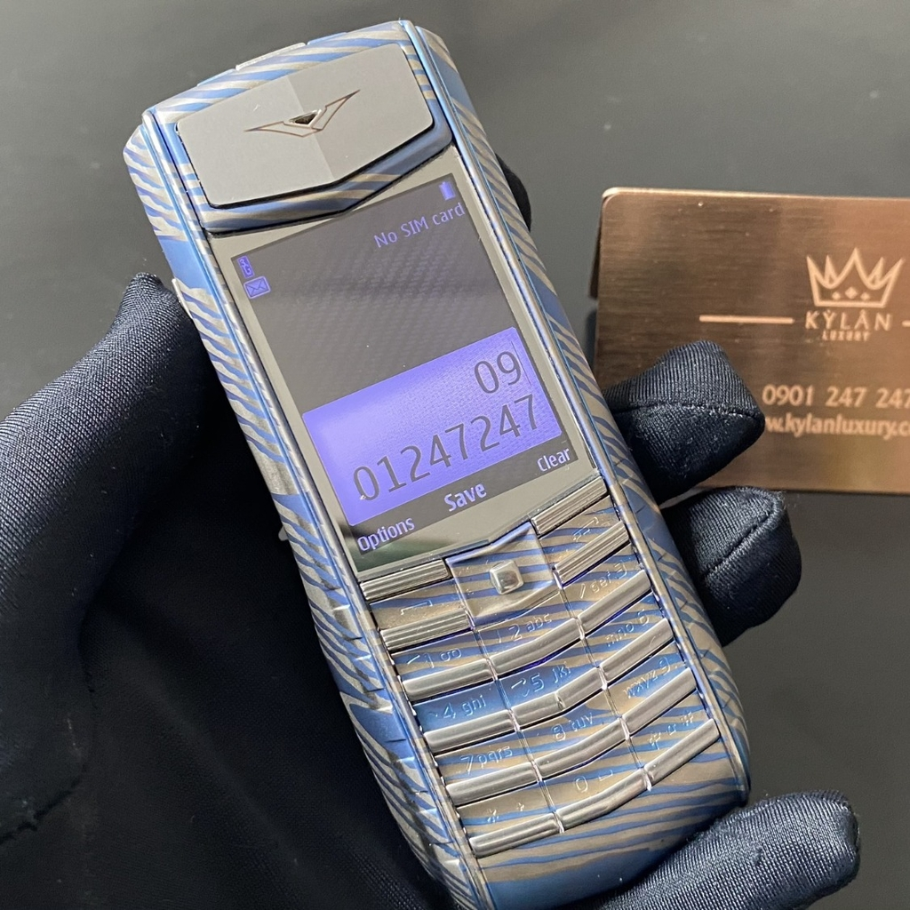 Vertu Ascent Ti Damascus Steel Limited Edition