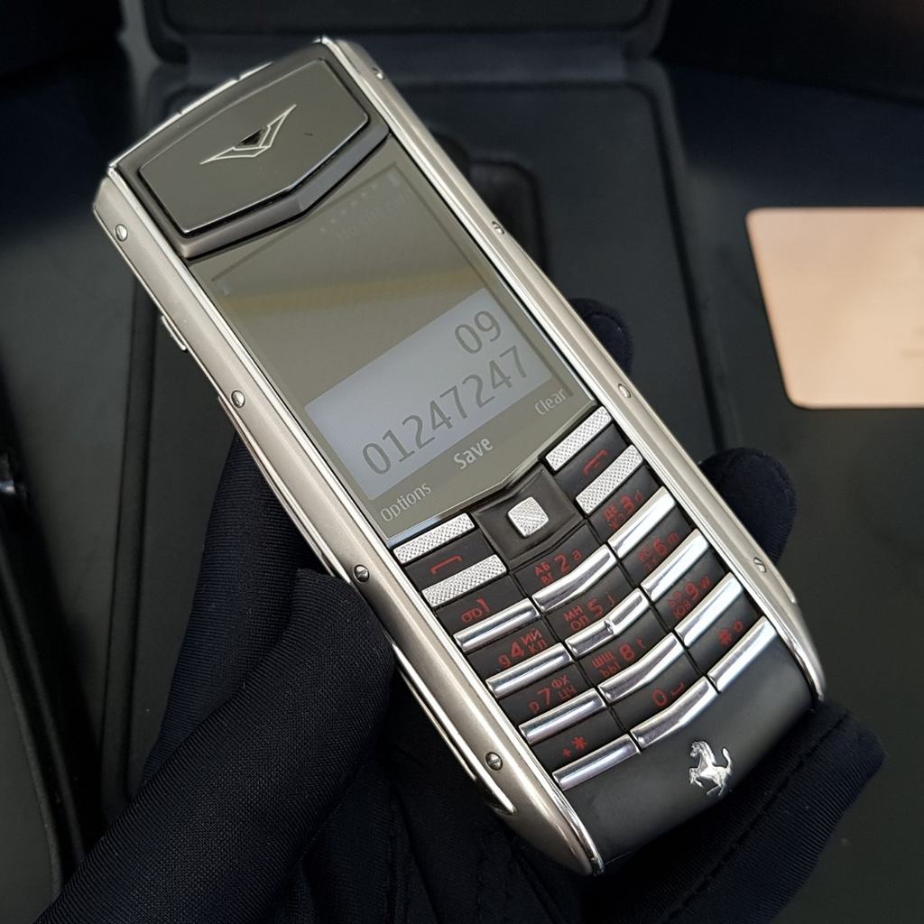 Vertu Ascent Ti Ferrari Limited Red
