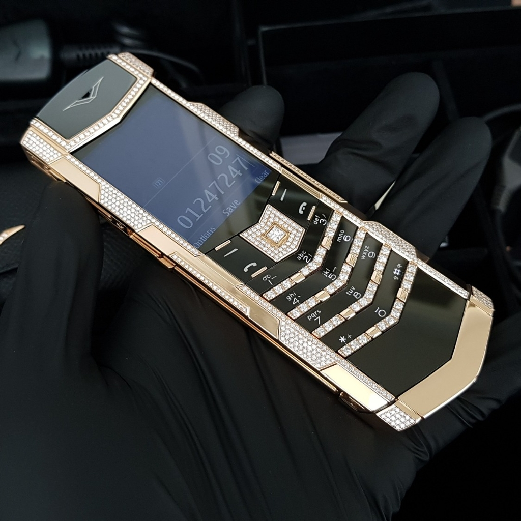 Vertu Signature S Full Gold Mix Diamond