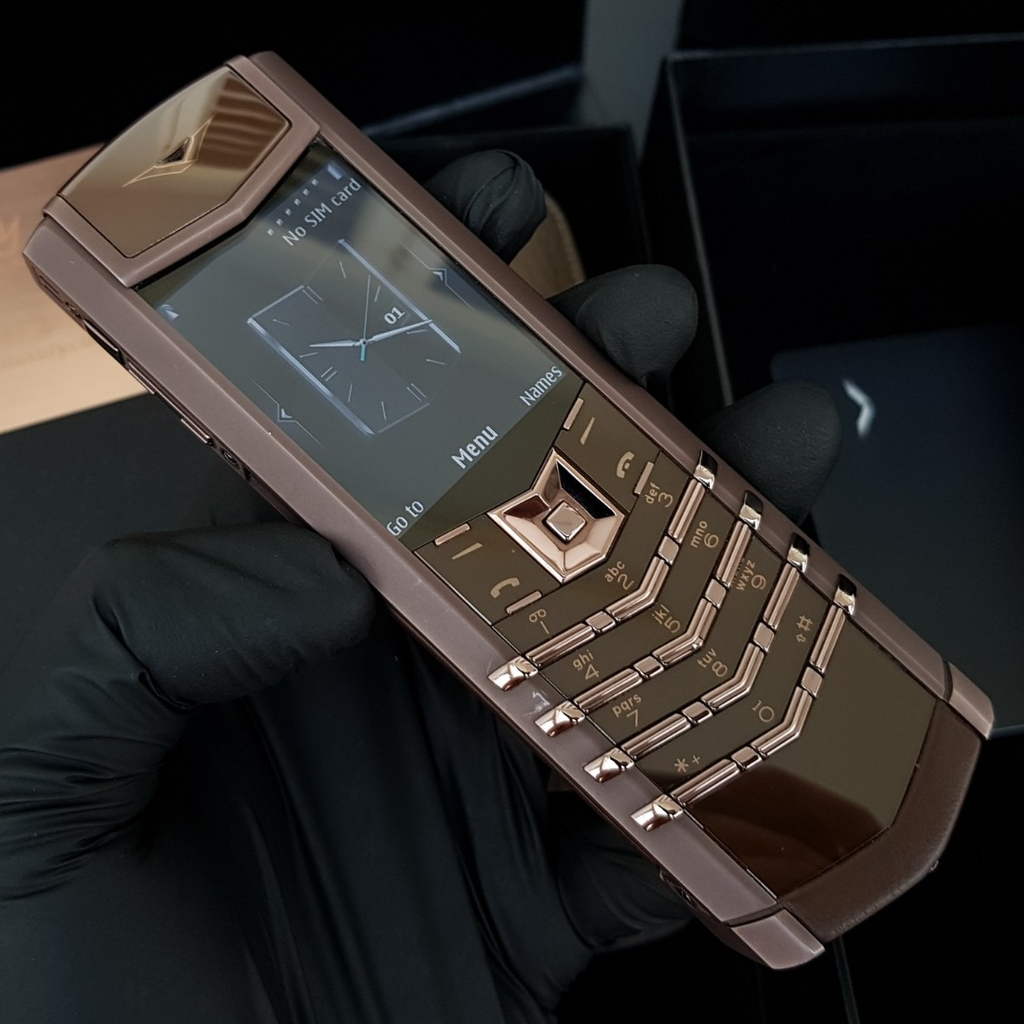 Vertu Signature S Brown