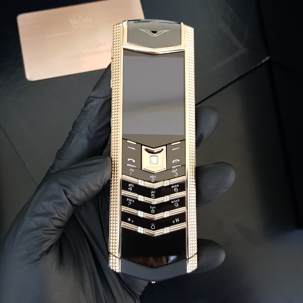 Vertu Signature S Cloud De Paris Gold Mix Diamond