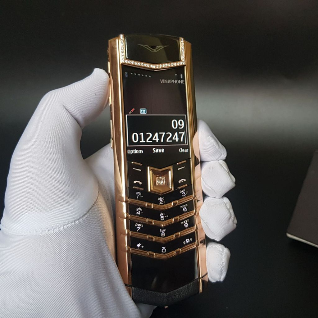 Vertu Signature S Diamond Gold 750