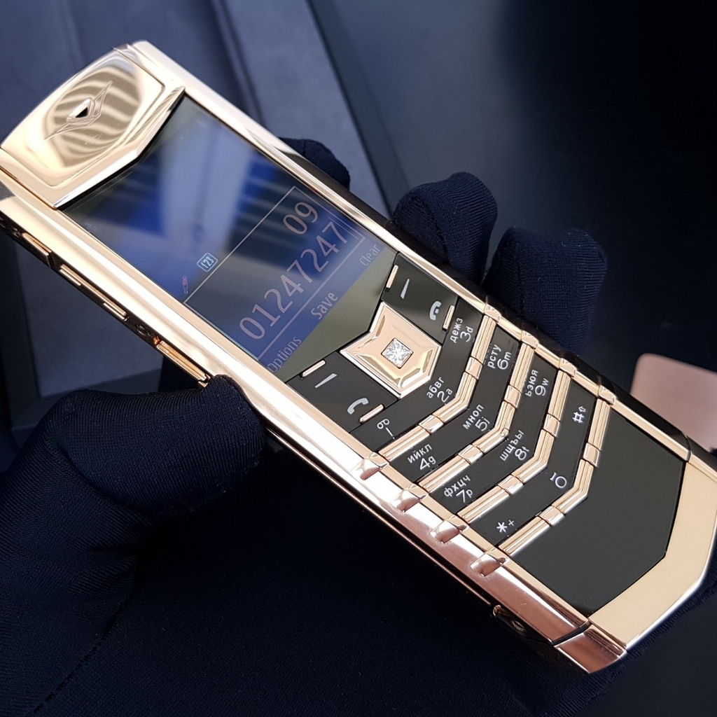 Vertu Signature S Full Gold 18K