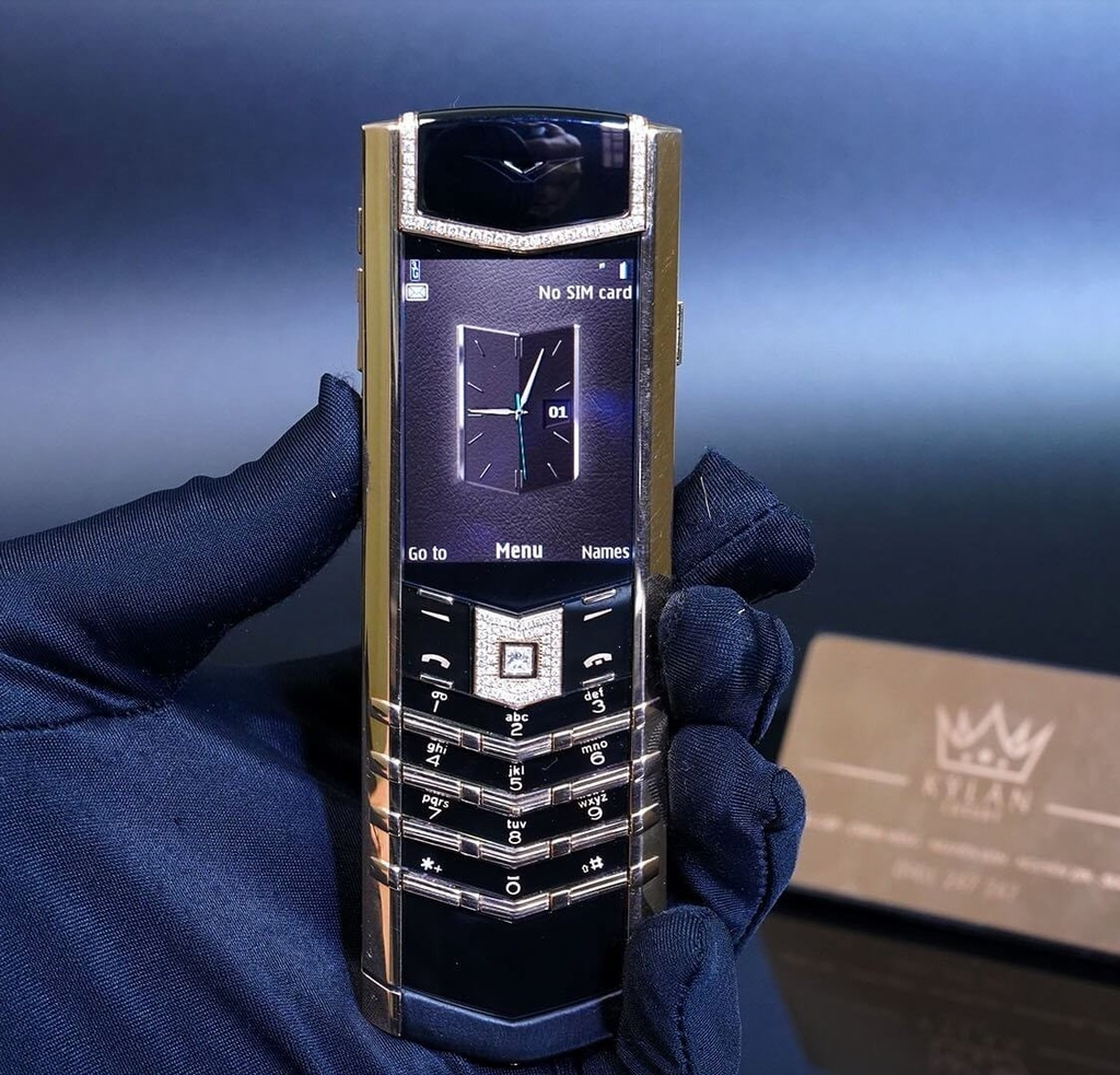 Vertu Signature S Gold mix Diamond