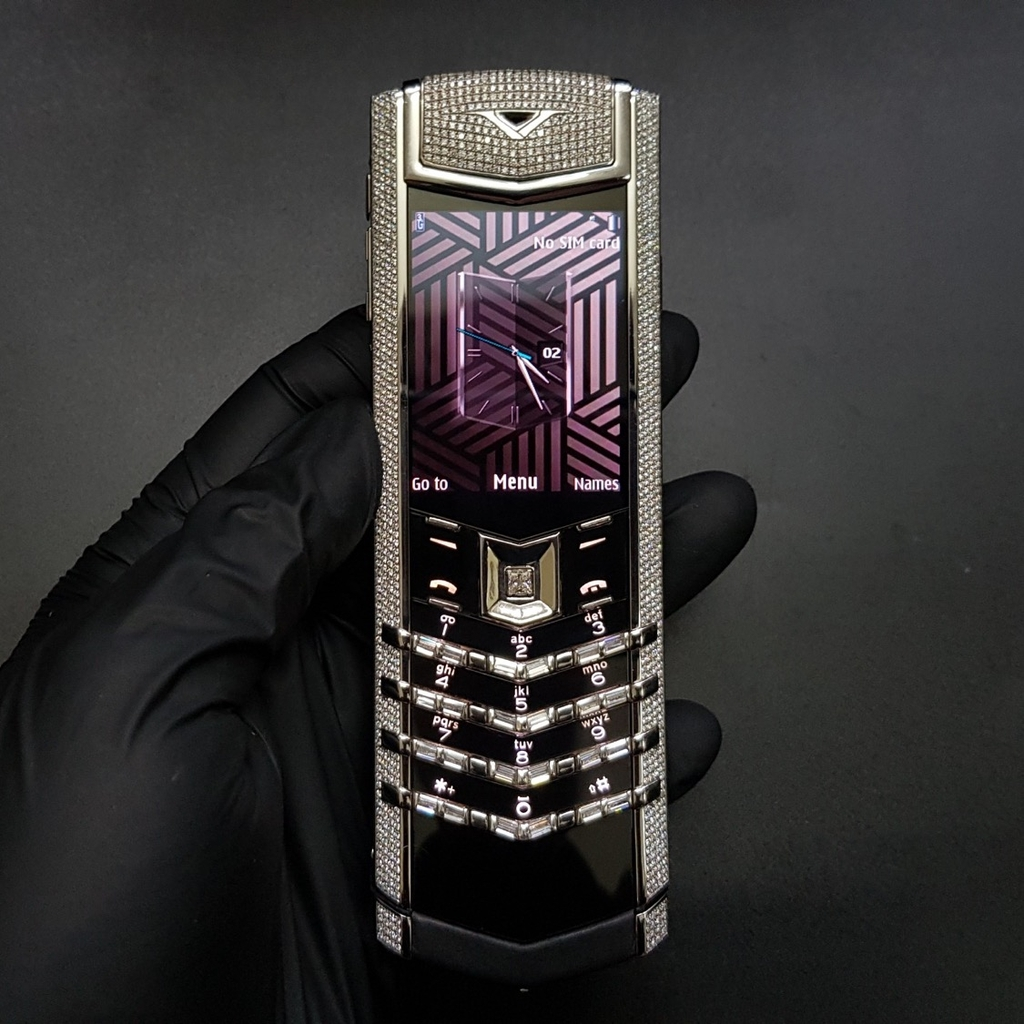 Vertu Signature S Steel Diamon