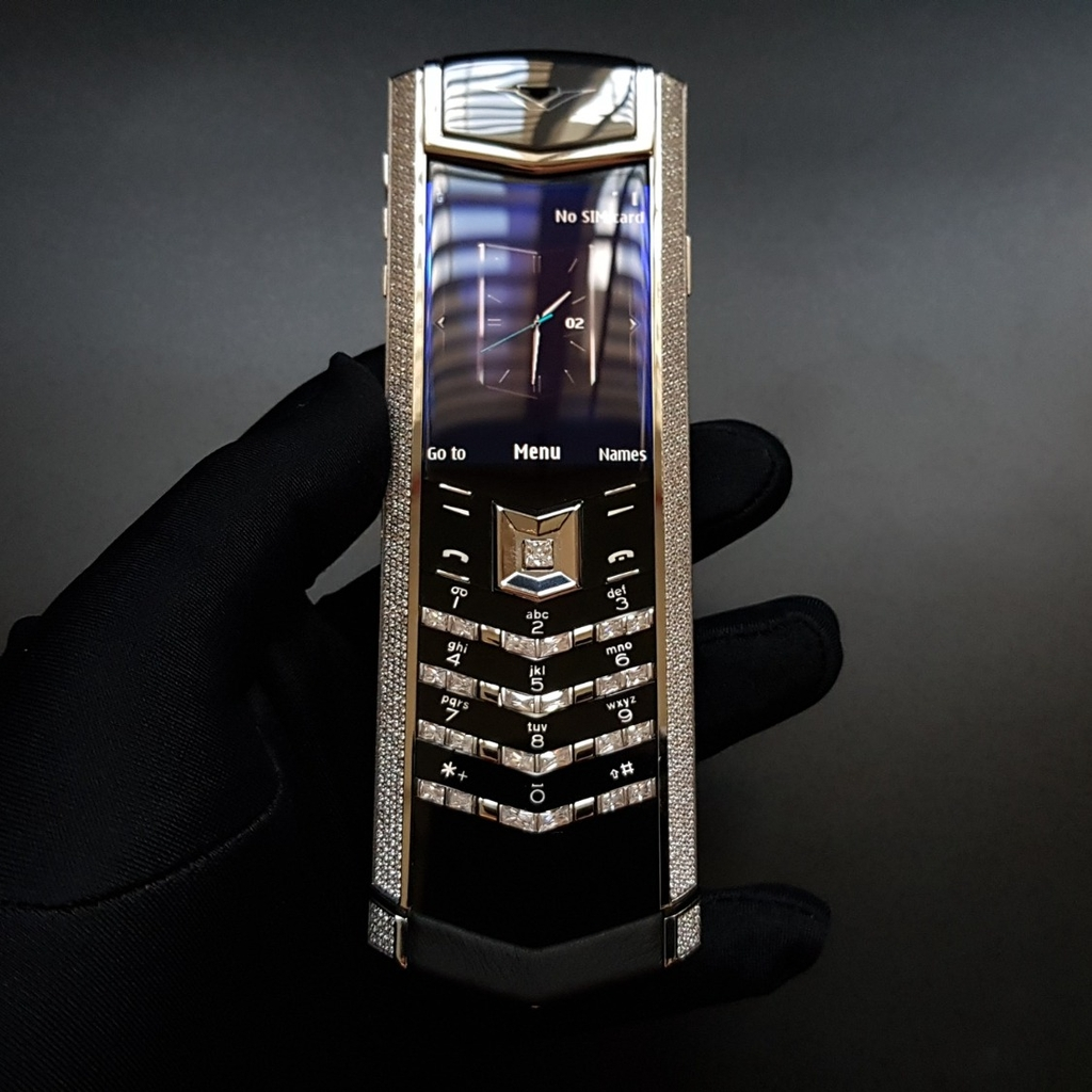 Vertu Signature S Steel Diamond