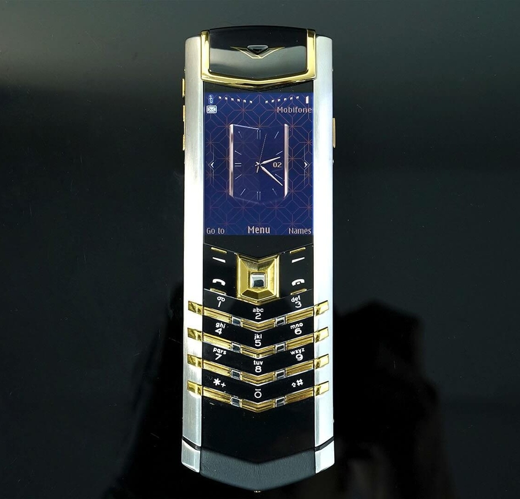Vertu Signature S steel mix gold