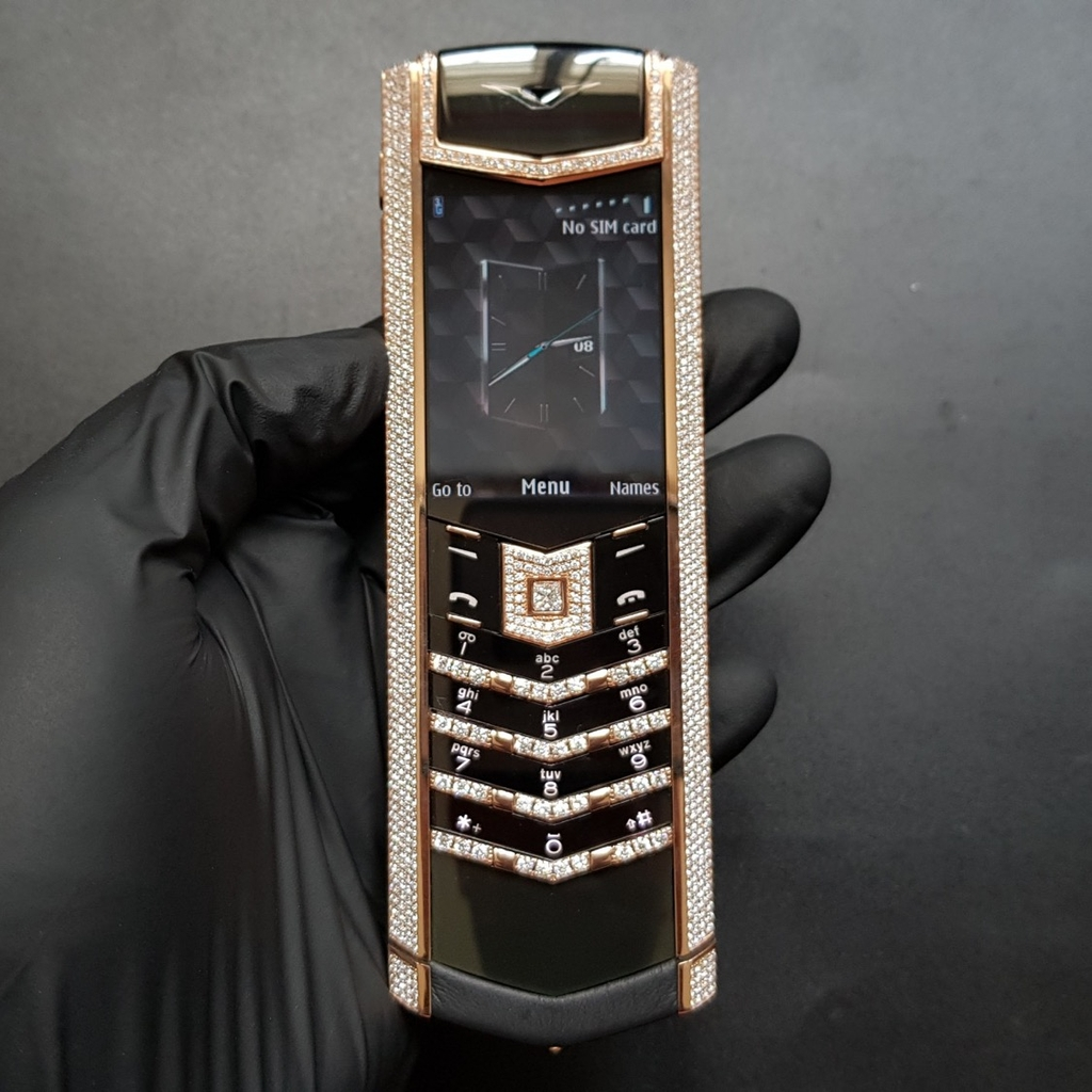 Vertu Signature S Rose Gold Diamond