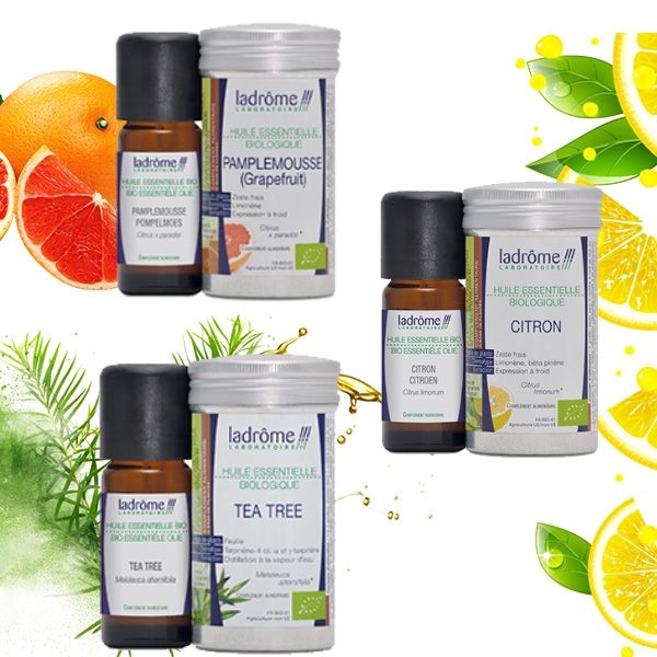 Combo ENJOY CLEANING - TEA TREE/LEMON/GRAPE FRUIT