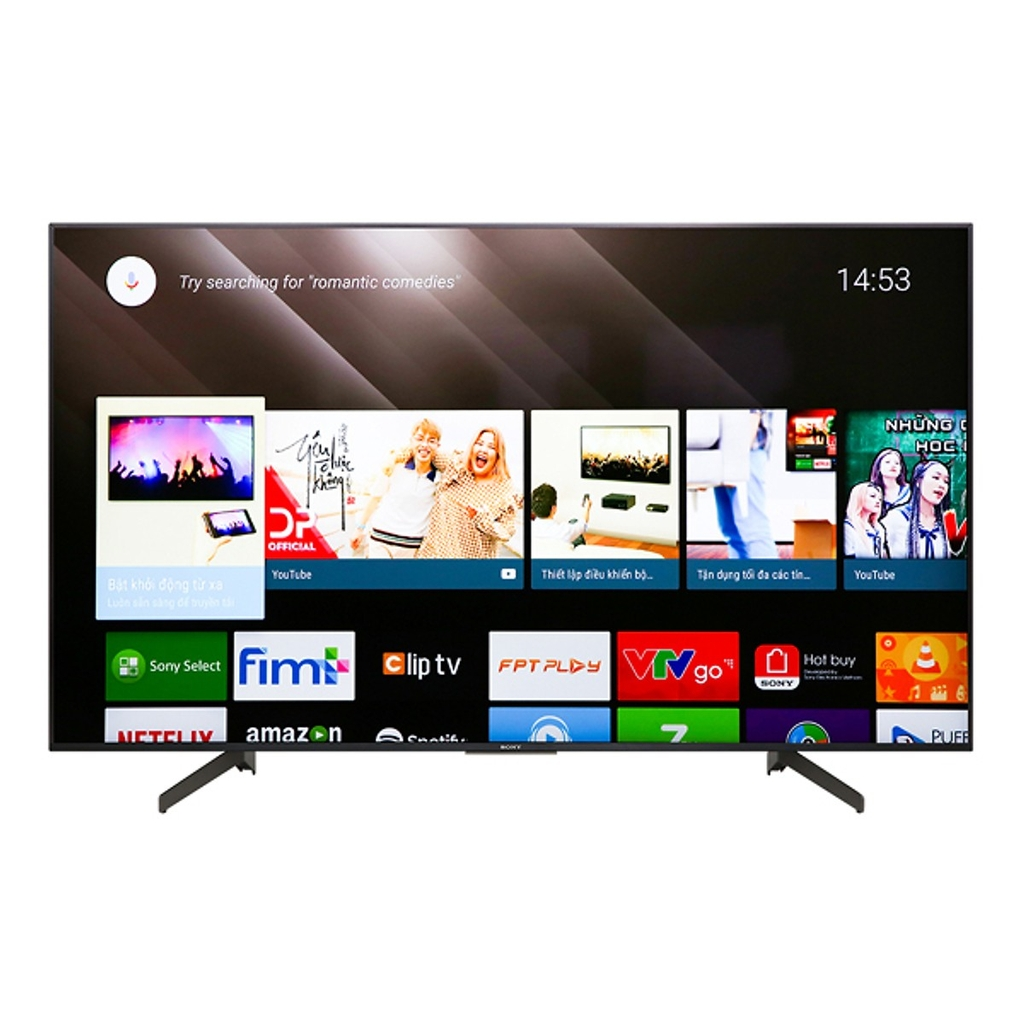Android Tivi Sony 4K 55 inch KD-55X8500F