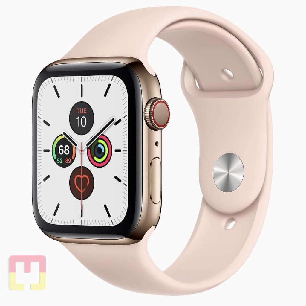 Apple Watch Seri 5 44mm Stainless Steel LTE (Chưa Active)
