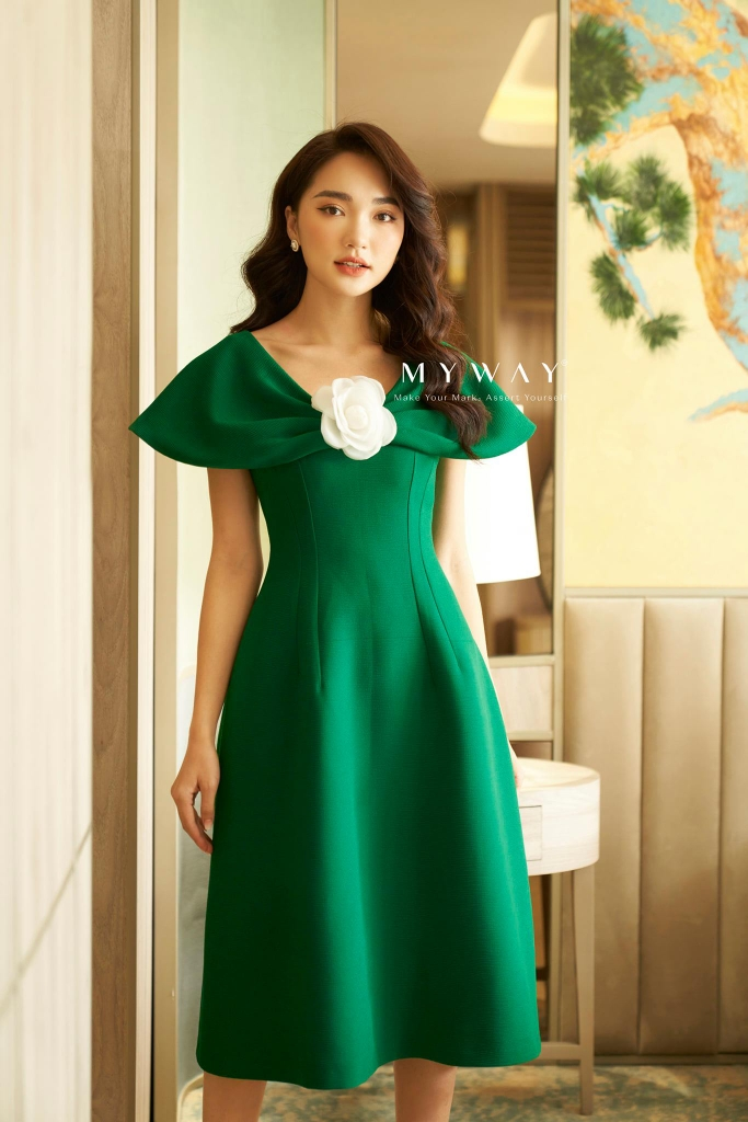 Litte Leaf Dress