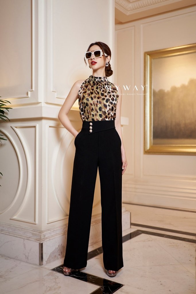 Sexy Leopard Trousers