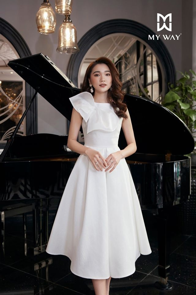 White Duty Dress