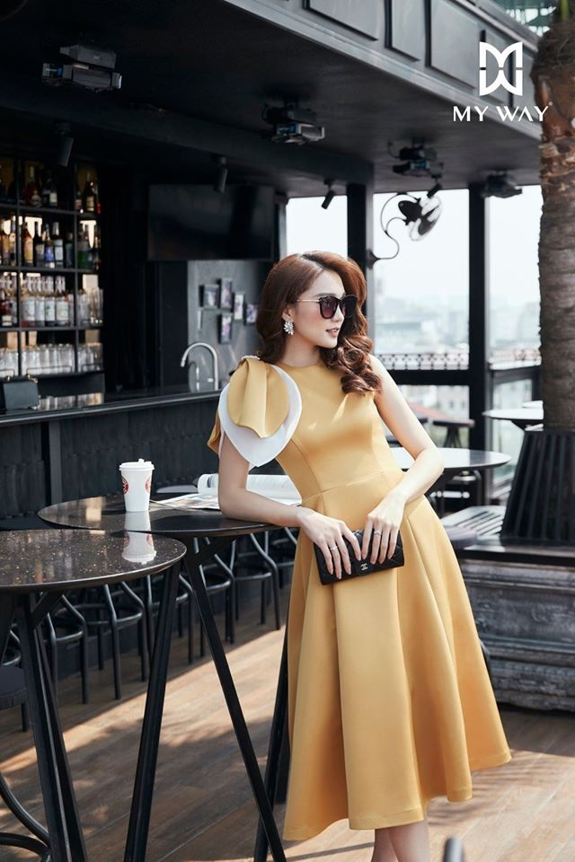 Yellow Angel Dress