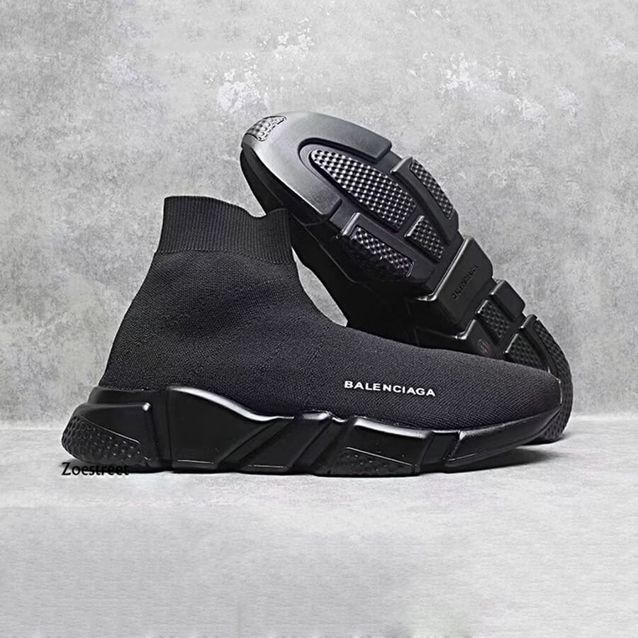 Giày Balenciaga Speed Trainer Full đen