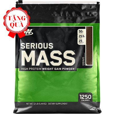 Serious Mass Gainer (5.4kg)