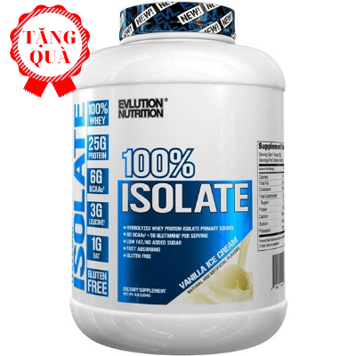 EVL 100% Isolate Whey (2.3kg)